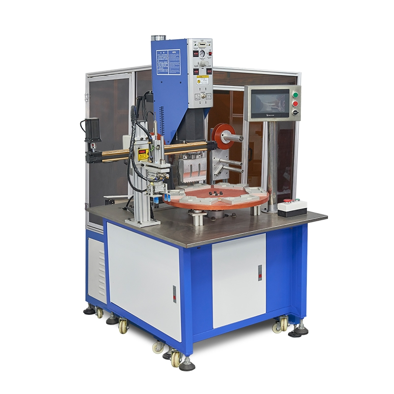 Automatic ultrasonic welding machine